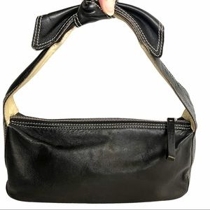 💯 Authentic Kate Spade Black Leather Hobo